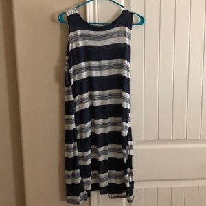 Tunic with open back